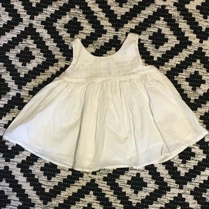 Baby Gap Sleeveless White Shirt Size 2T